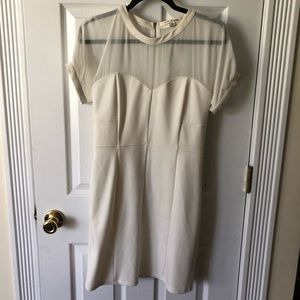 Robbie and Nikki White Dress Size M